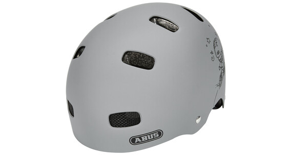 ABUS Scraper Kid v.2 Helm grey ride